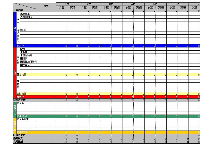 Blank Chore Charts